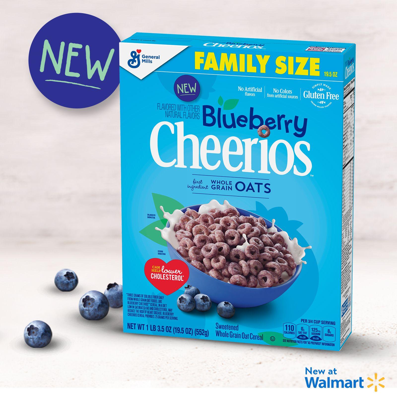 Food in 2019   New Breakfast Options   Cheerios cereal