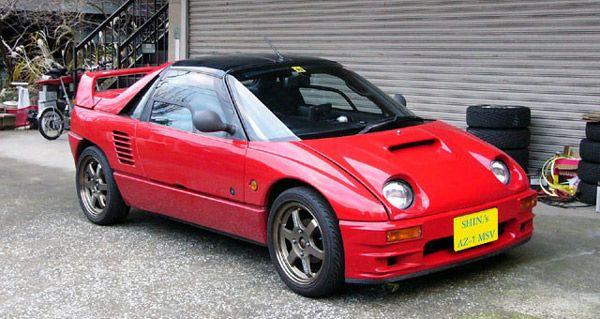 Team Imports Top 10 Jdm Cars We Wish We Got 1992 Mazda Autozam Az 1 マツダ オートザム 軽自動車