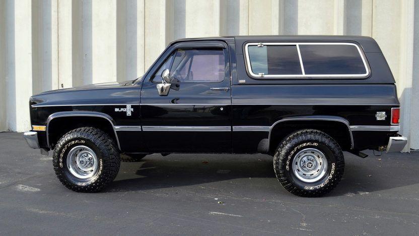 1988 Chevrolet K5 Blazer 2 Classic Trucks Chevrolet Lifted Chevy Trucks