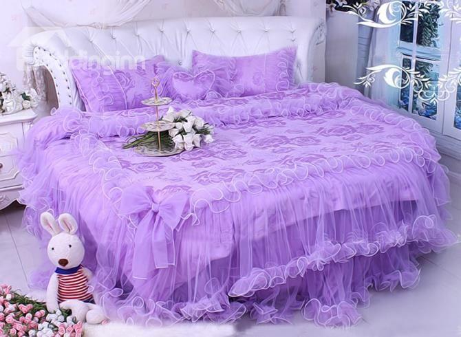 Purplelacebedding Beddingset Princessbed Live A Better Life