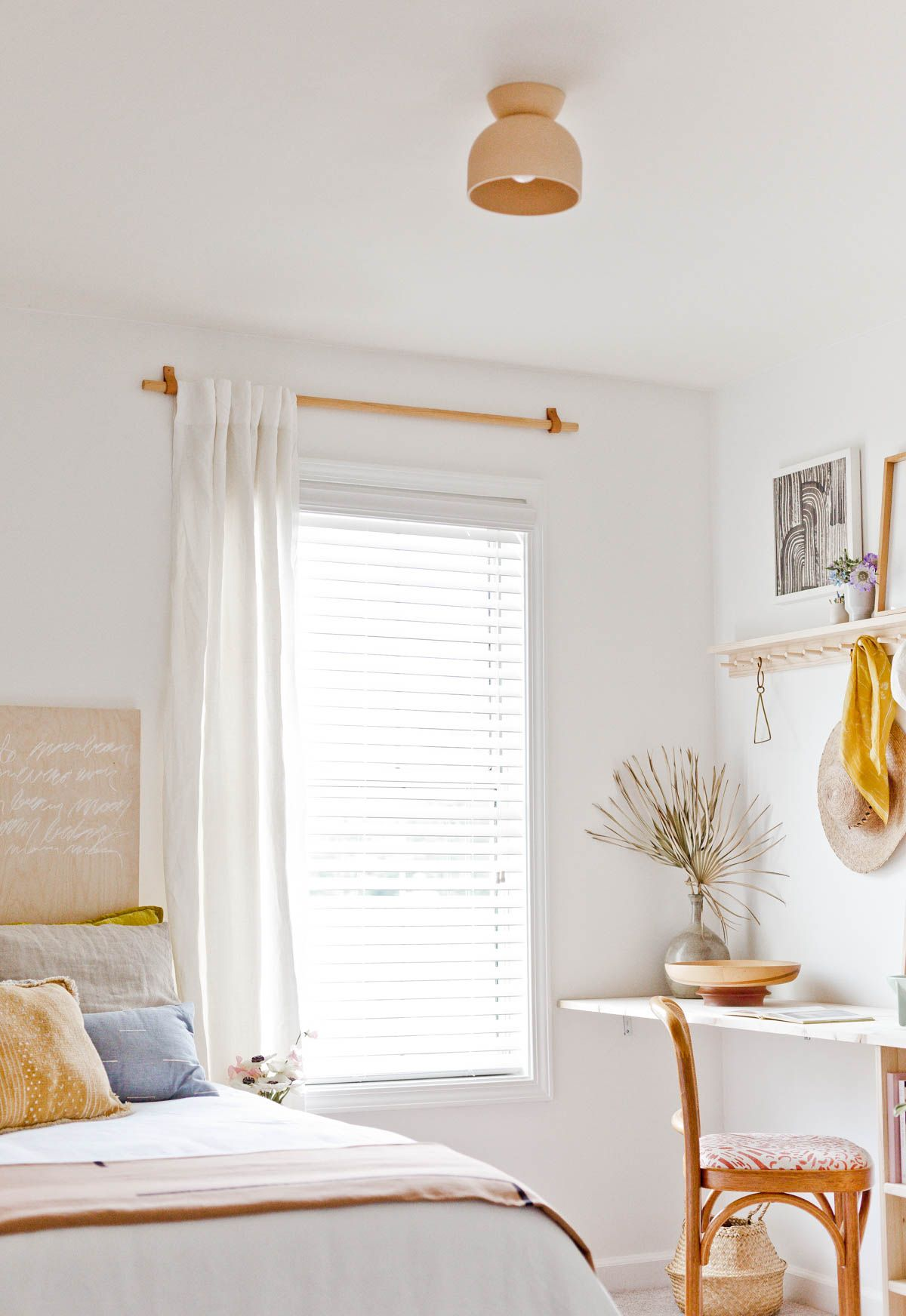 How To Make A Simple Curtain Rod For Less Than 10 After Sharing