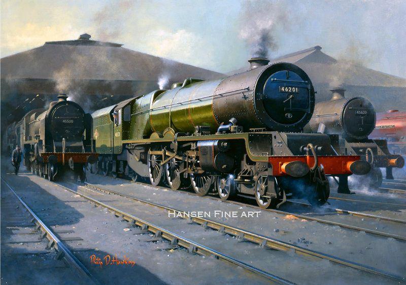 Details About 46201 Princess Elizabeth Steam Locomotive Train