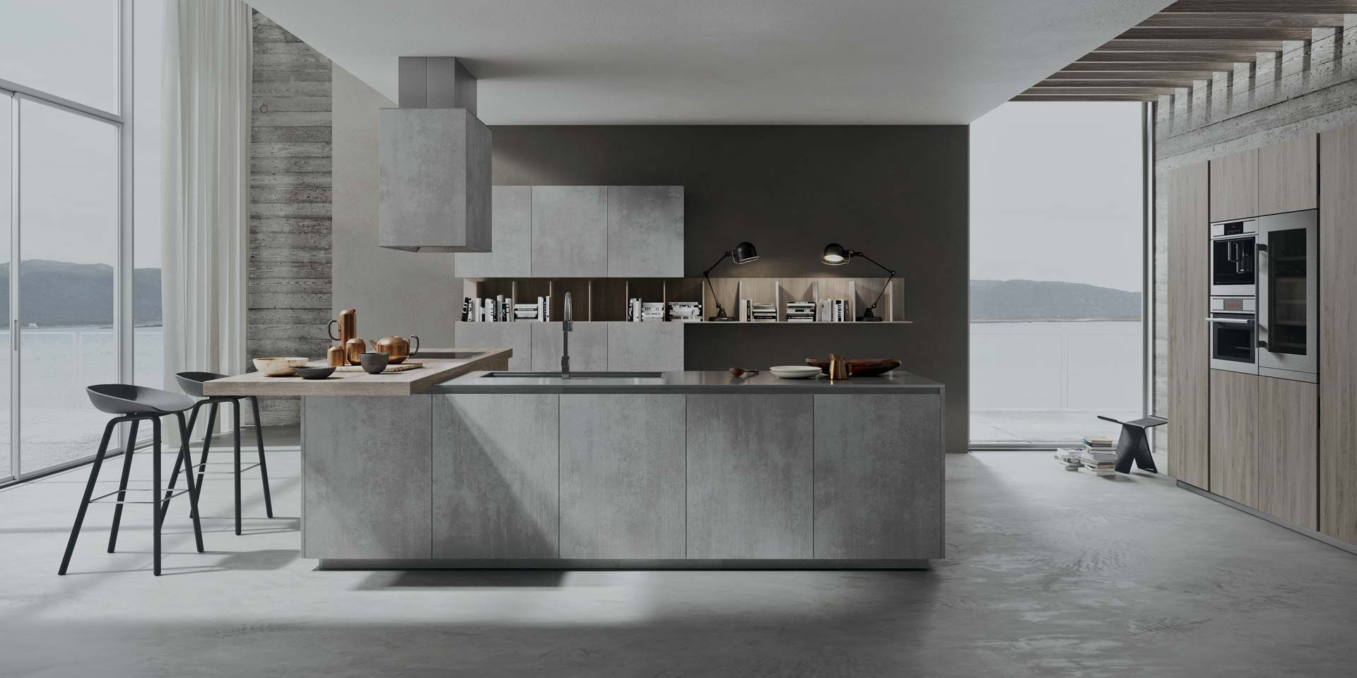 Modern affordable Italian kitchen collection 2.1 by Copatlife. Visit ...
