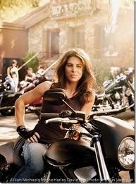 Jillian Michaels for the Harley Davidson