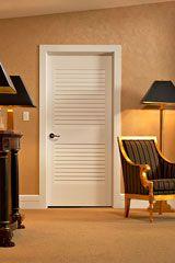 Powder Room Bi Fold False Louver Door Doors Interior Doors