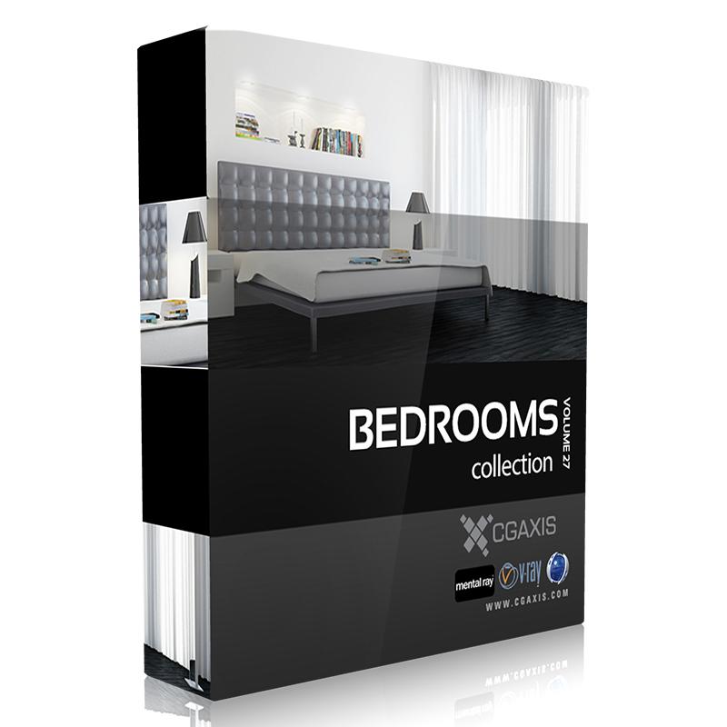 CGAxis 3D Models Store Luxurious bedrooms, Bedroom