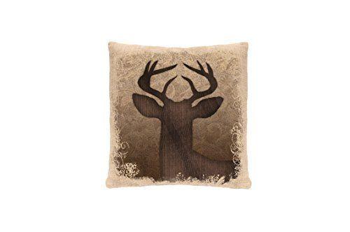 Heritage Lace Alpine Woods Deer Pillow Cover, 18 by 18-Inch, Natural, http://www.amazon.com/dp/B00QZBIOAQ/ref=cm_sw_r_pi_awdm_x_QwQTxb2EAP5S1