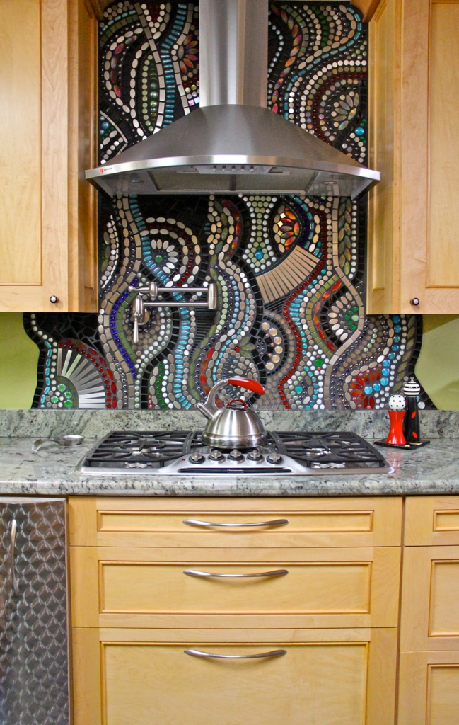 Kitchens Designed For Every Lifestyle Contributed By Capid Designers Mosaic Backsplash Trendy Kitchen Backsplash Kitchen Mosaic