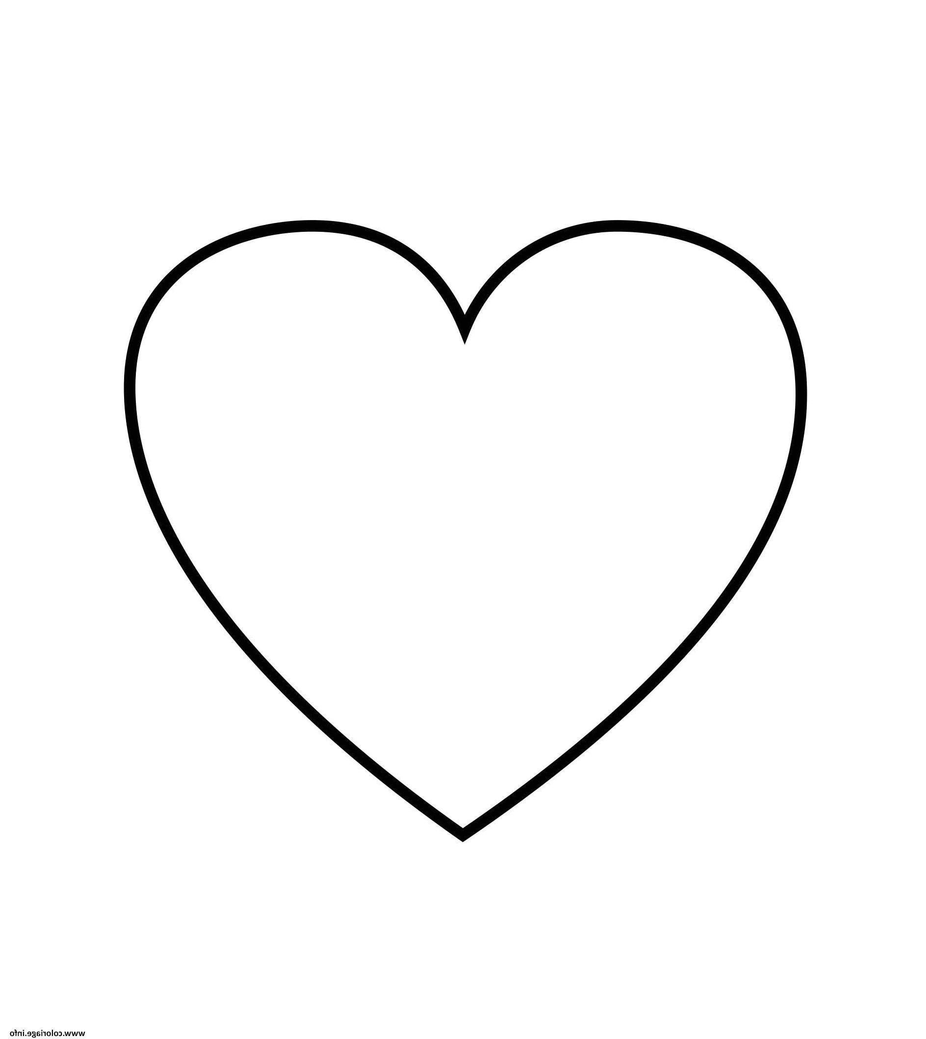 8 Beau De Gros Coeur A Imprimer Image   Coeur à colorier ...