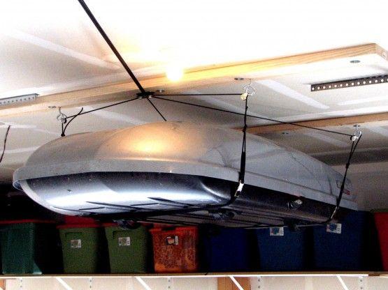 Garage Ceiling Storage | Garage Storage Hoist | Contractor