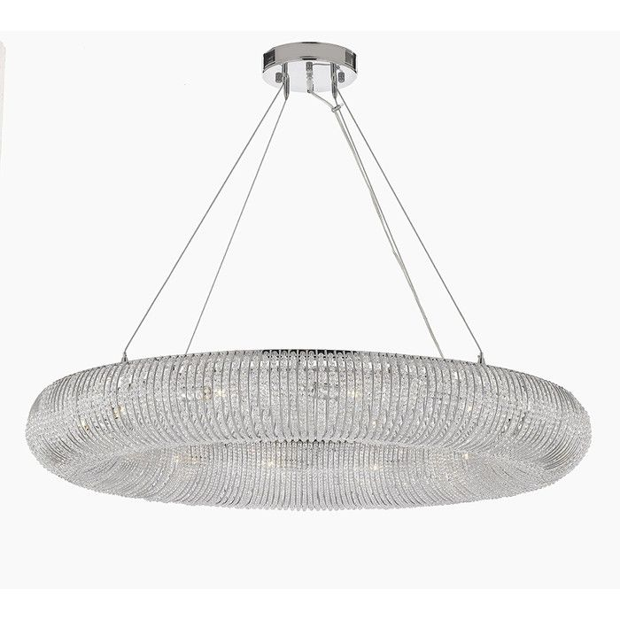 You Ll Love The Halo 12 Light Crystal Chandelier At Wayfair Great Deals On All Lighting Products Wi Modern Chandelier Halo Chandeliers Contemporary Lighting