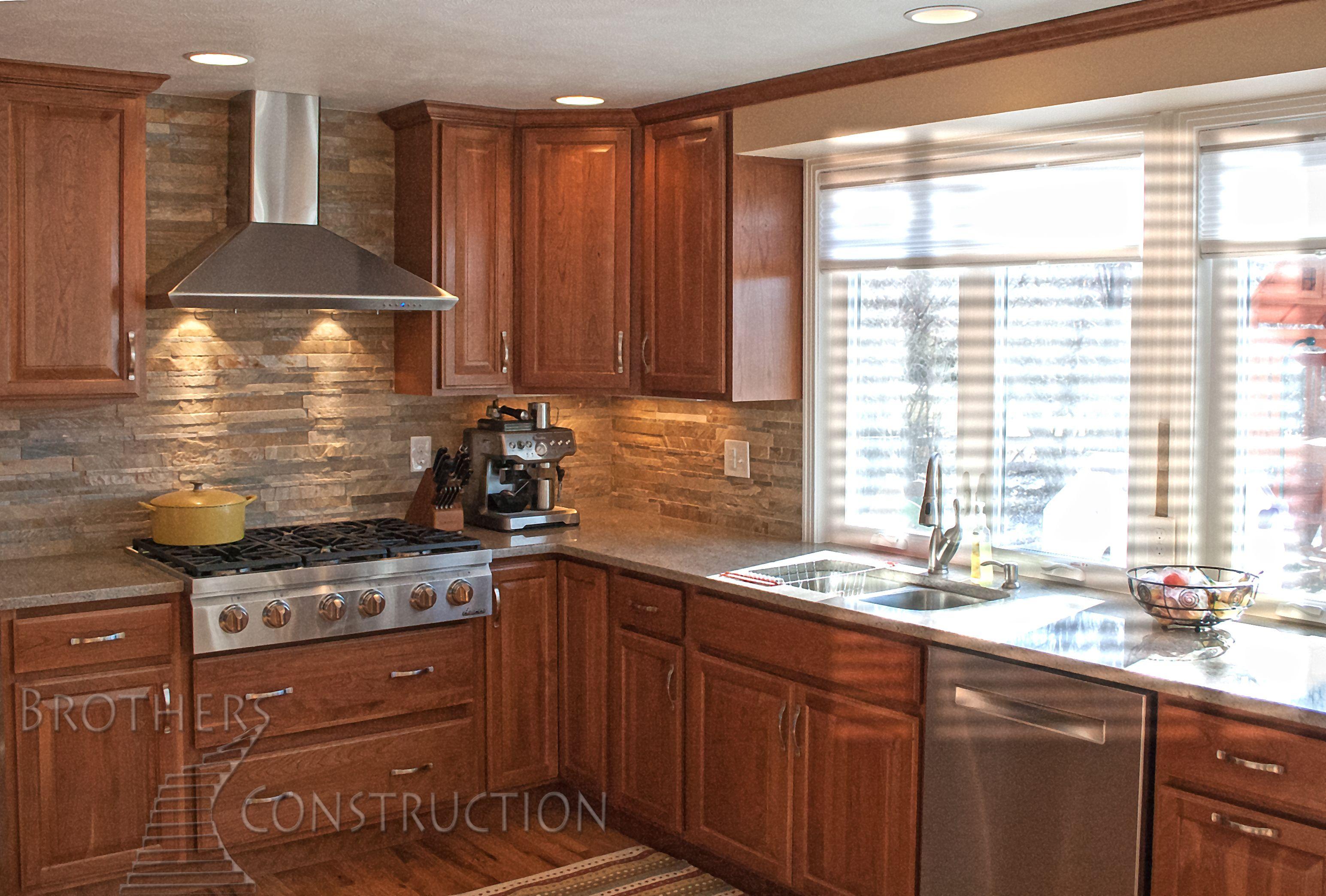 Dream Colorado Kitchen Remodel With Cherry Raised Panel Cabinetry Stunning Colorado Kitchen Design Design Ideas