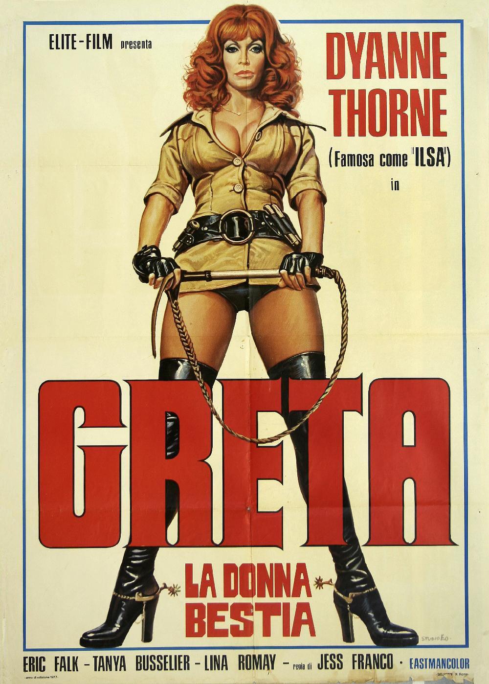 Greta The Torturer At Samuel Owen Gallery The Stranger Movie Exploitation Movie Bad Film