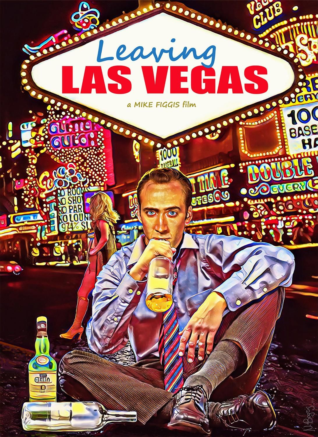 Leaving Las Vegas 1995 1092 X 1500 Leaving Las Vegas Los Vegas Best Movie Posters
