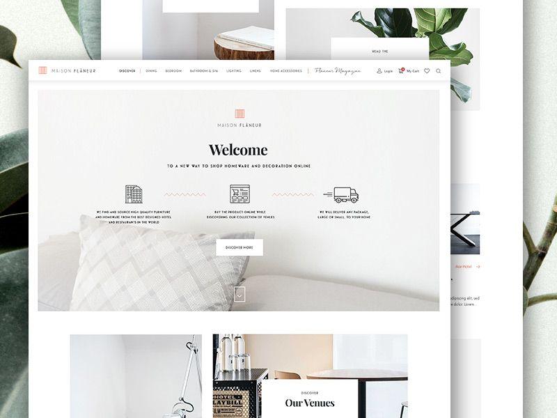 Maison Flâneur Homepage