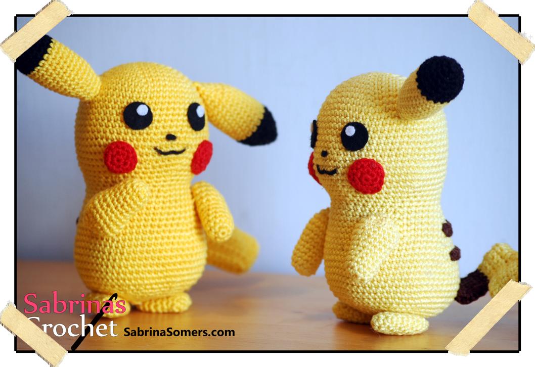 Sabrina\'s Crochet: Crochet pattern Pikachu (Pokemon) | Pokemones ...