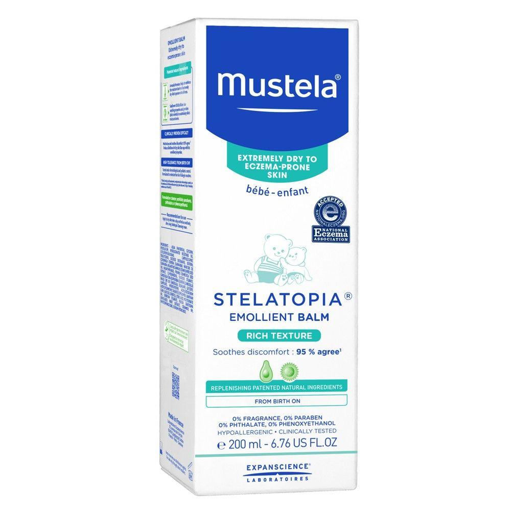 Mustela Stelatopia Emollient Fragrance Free Baby Balm For Eczema Prone Skin 6 76 Fl Oz In 2020 Emollient Cream Eczema Cream Moisturizer Cream