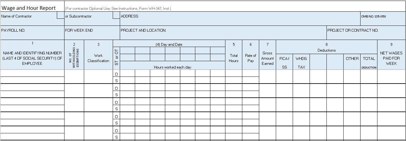 Excel Construction Management Templates Project Management