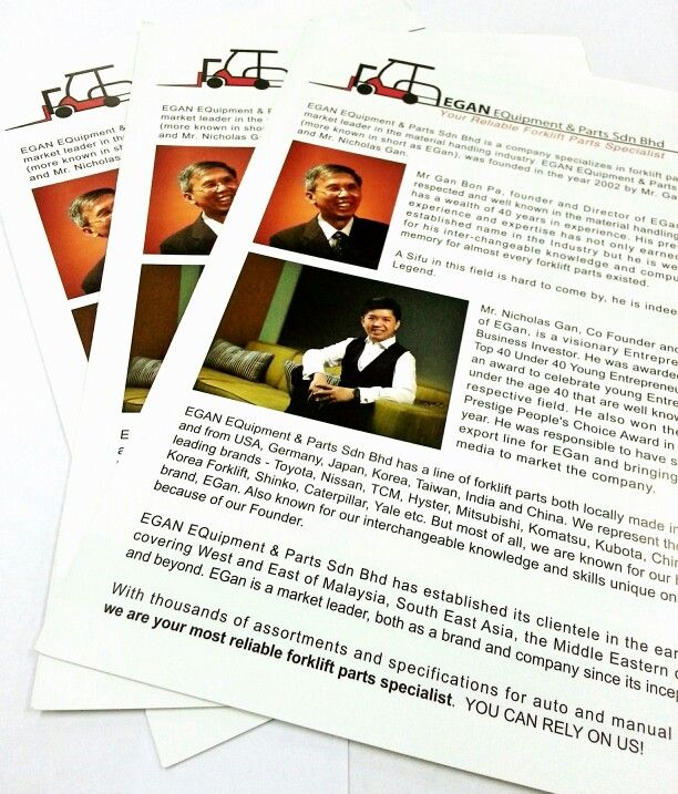 HOT from the oven    our new brochure design  Ready to be