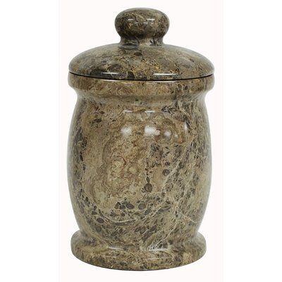 Bloomsbury Market Polished Storage Jar Marble Jar Jar Storage Ceramic Jars