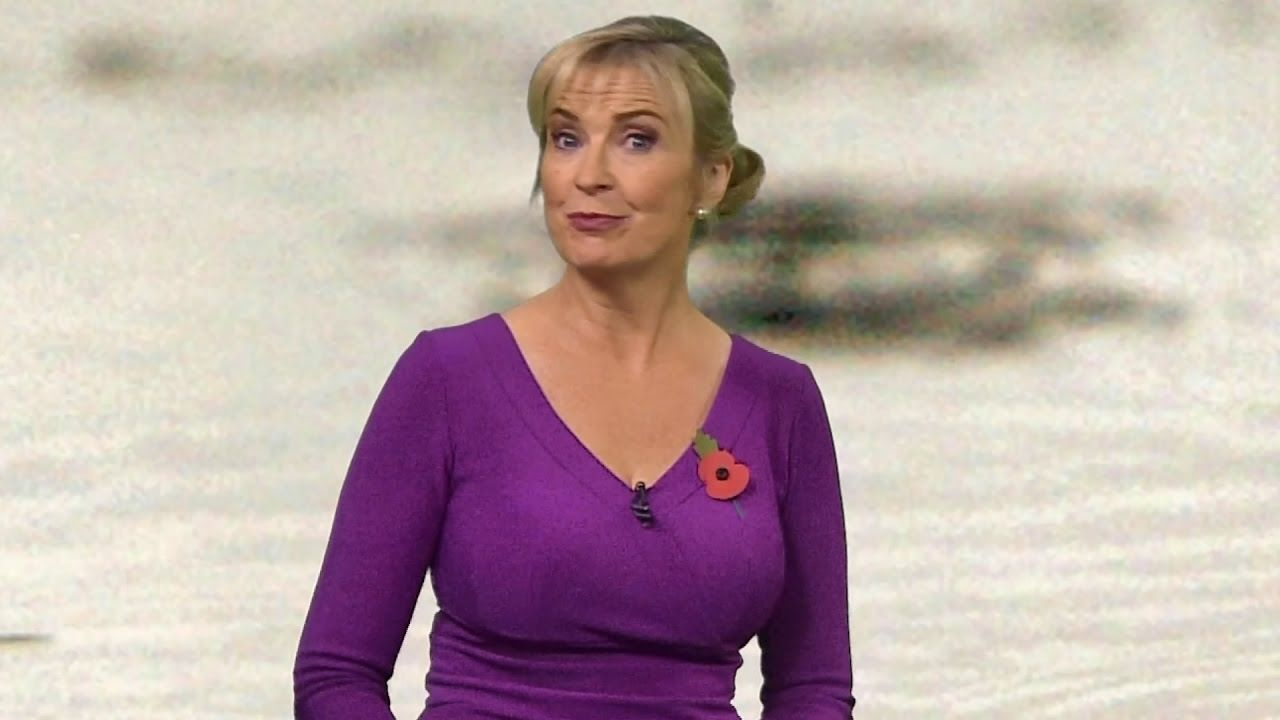 Awesome Biggest Boobs In Weather Amazing Carol Kirkwood -1133