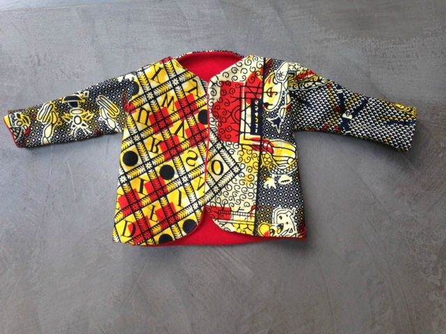 veste pour bébé 3mois doublée en polaire