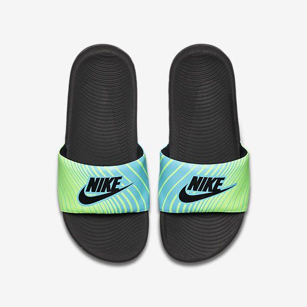 sports shoes dd75a 07c3e Nike Kawa Print (11c-7y) Kids  Slide
