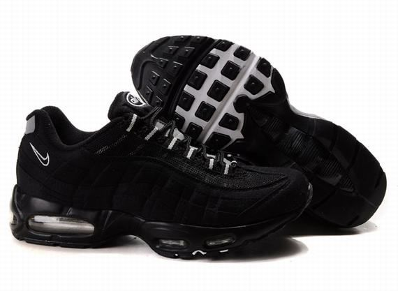 Nike Air Max 95 Mens In Leather Black | Shoes I would wear