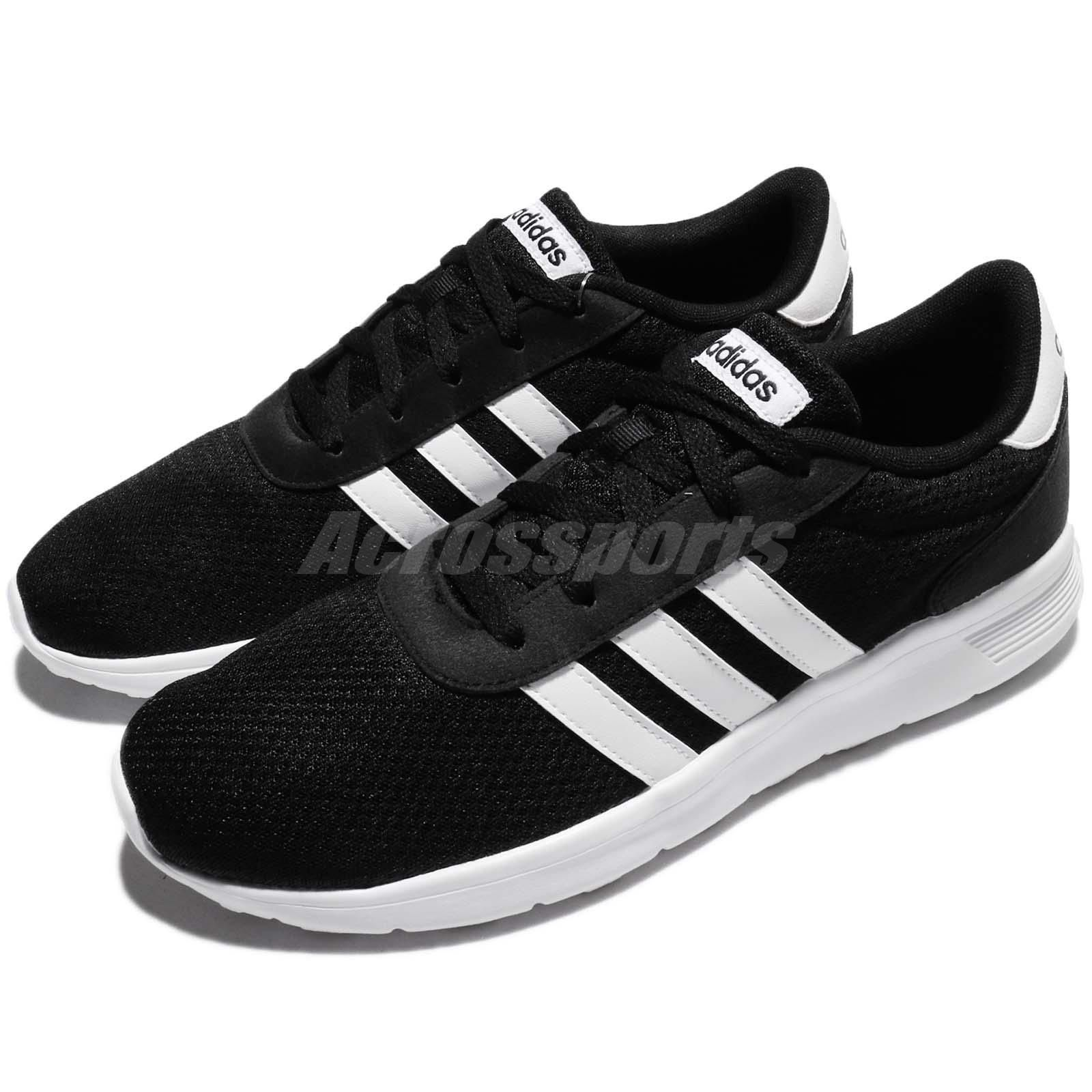 f93683a50 ... shop adidas neo lite racer black white men running shoes sneakers  bb9774 974ea a2b13