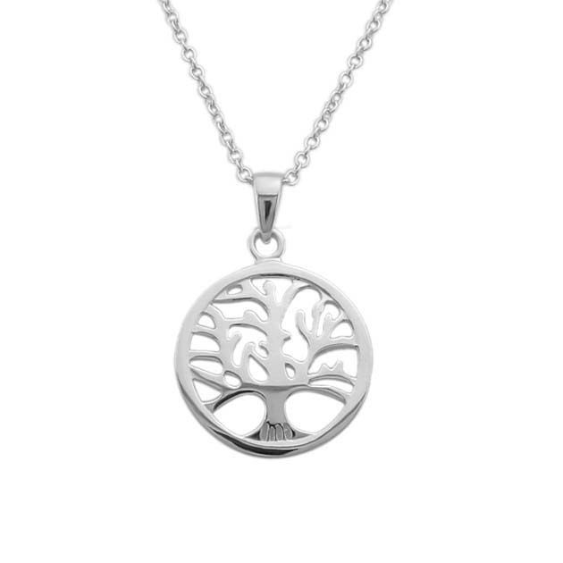 242e026a32dc Mamá  Fuente de vida Cadena en plata con dije de árbol de la vida. Aretes a  Juego disponibles.  arboldelavida  sterlingsilver  chain  cadena   mothersday   ...