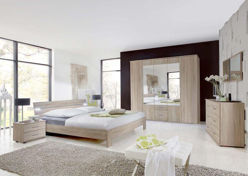 MARBELLA - vervaardigd uit spaanderplaten, straalt charme uit door - chambres a coucher conforama