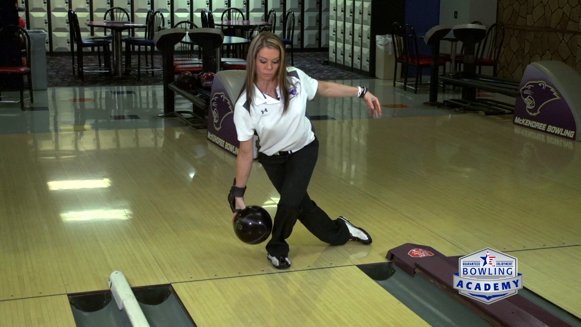 Release Drills For A Better Bowling Finish Position Usbc Bowling Bowling Tips Drill
