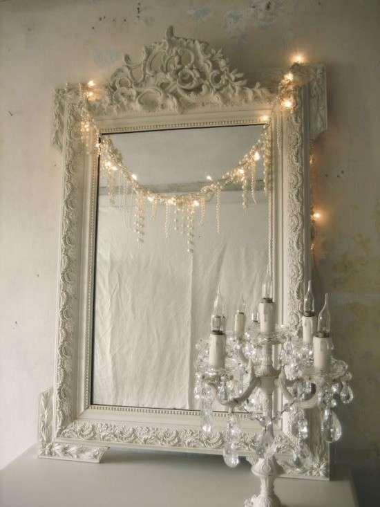 Arredare casa con gli specchi - Specchio shabby chic per ...