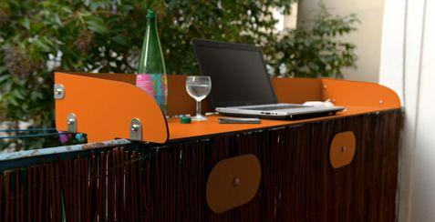 Mobilier Balcon Terrasse Baracood Le Concept Table De Balcon