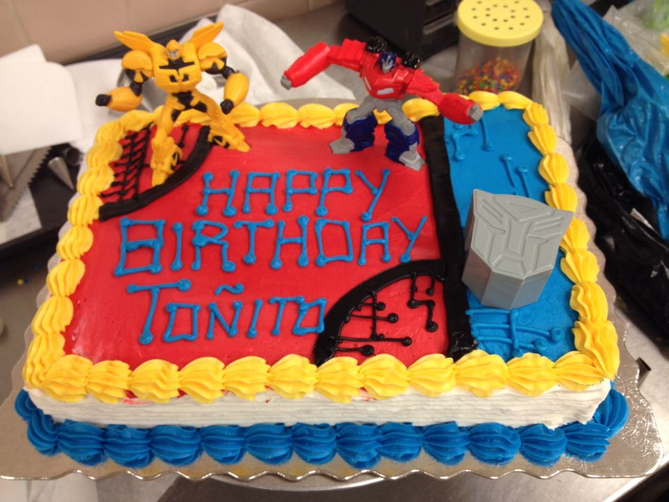 Transformers Sheet Cake Cakes I Ve Decorated In 2019
