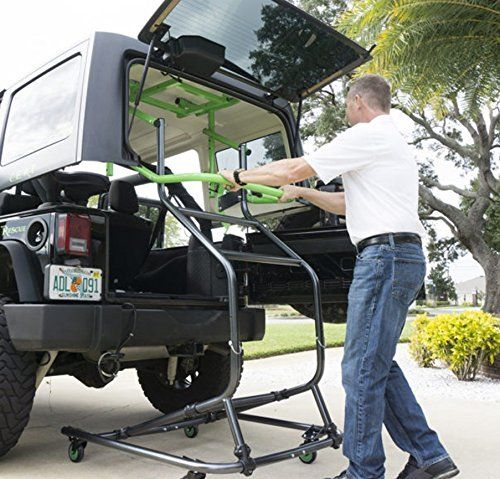Toplift Pros Jeep Hardtop Remove And Storage Device By Toplift
