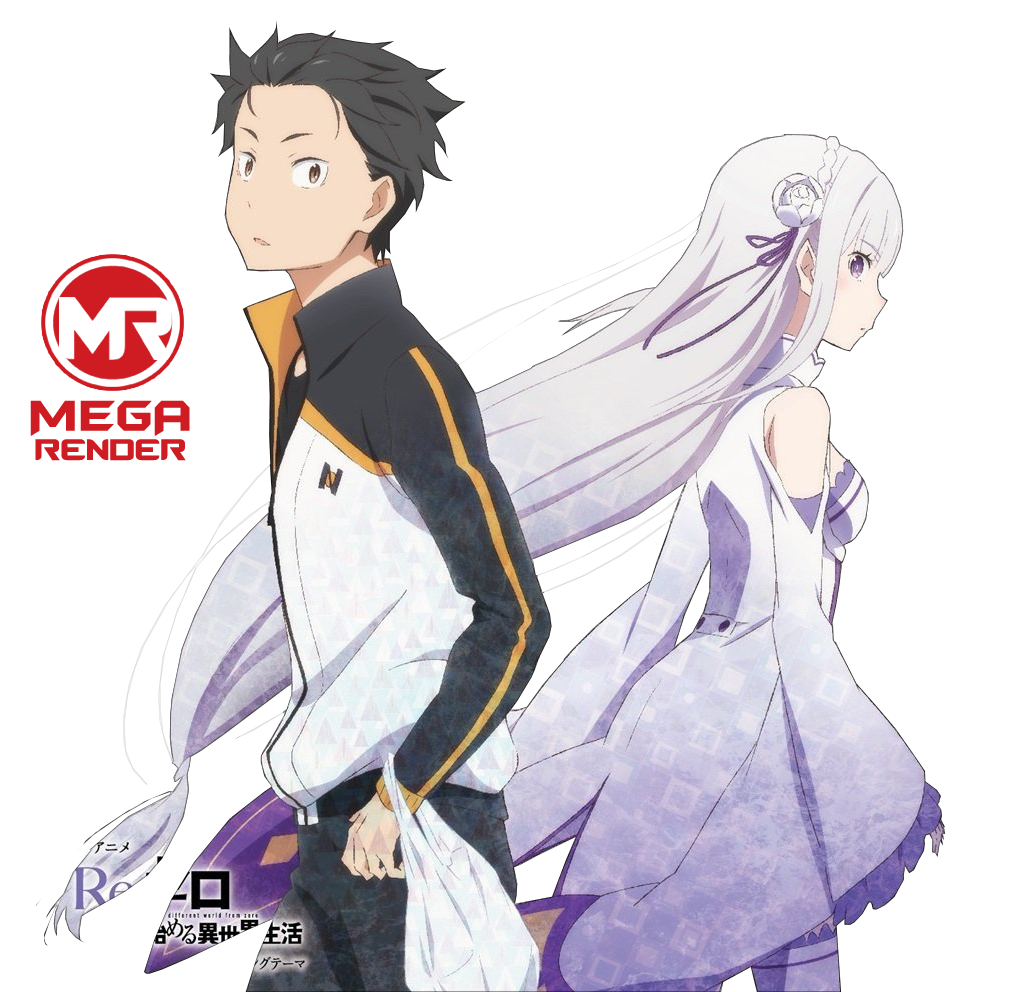 Image result for re zero art อะนิเมะ