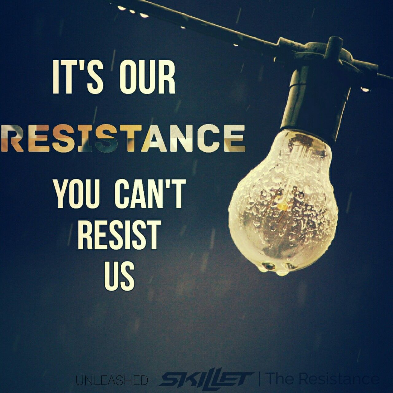 Workout Bands Music: Skillet UNLEASHED The Resistance Wallpaper 2016