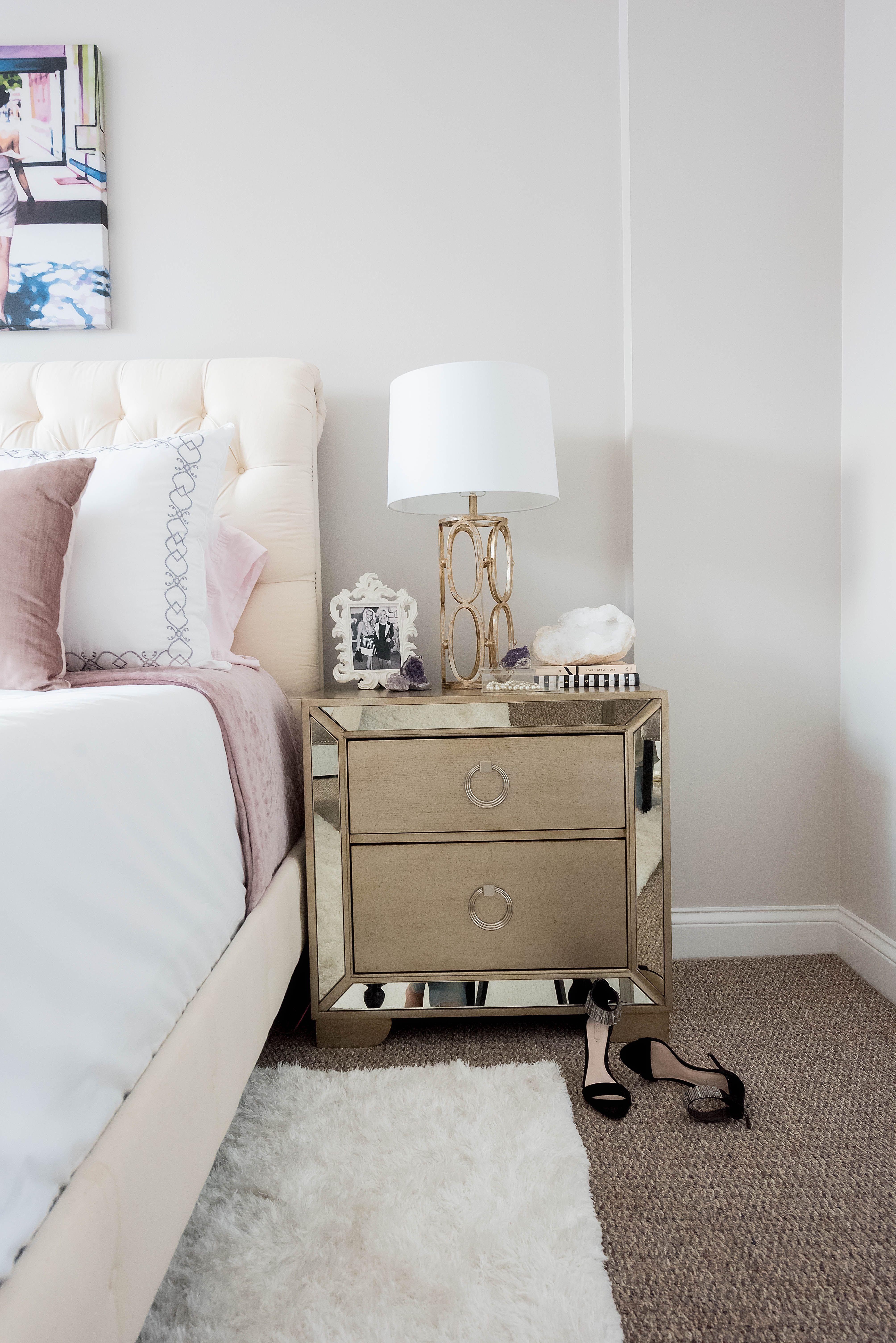 Glamorous Bedroom Reveal Oliviarink Com Bedroom Decor