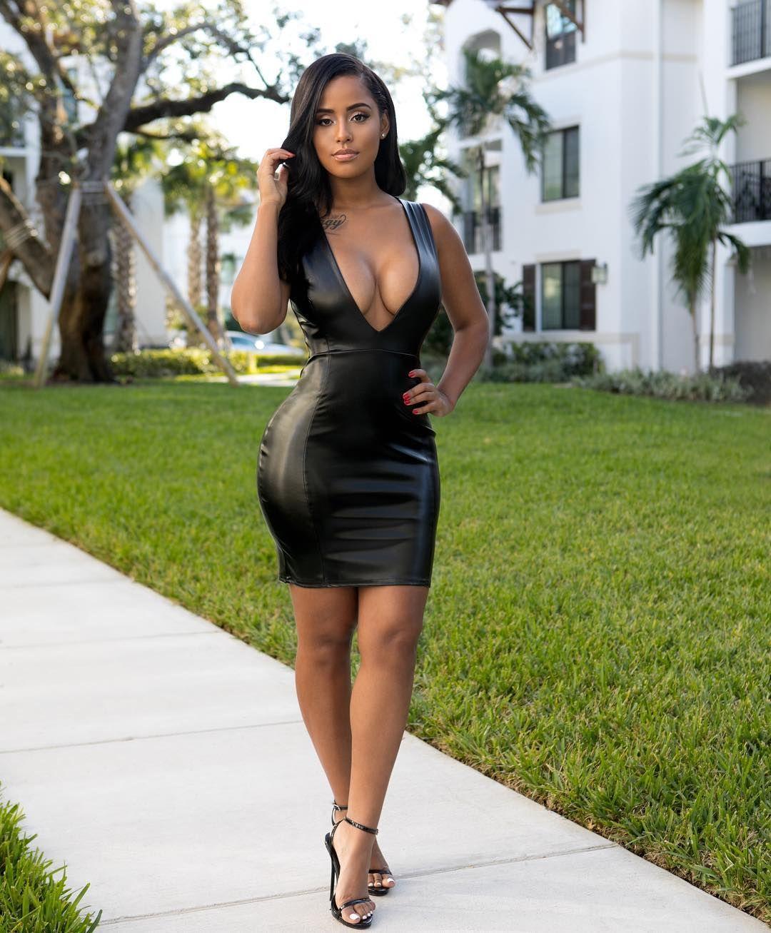 Sexy black miami girl gets nice smooth fuck 4