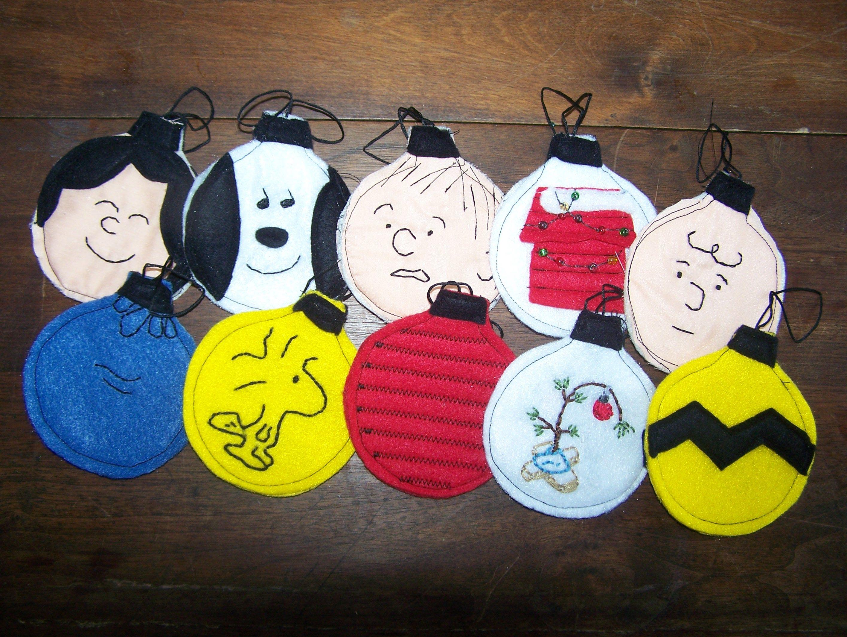 Charlie Brown ornaments  stuff I have made  Pinterest  Charlie