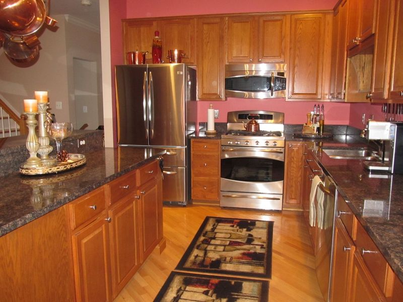 kitchen pictures white cabinets kingstowne virginia townhome for alexandria virginia 5523