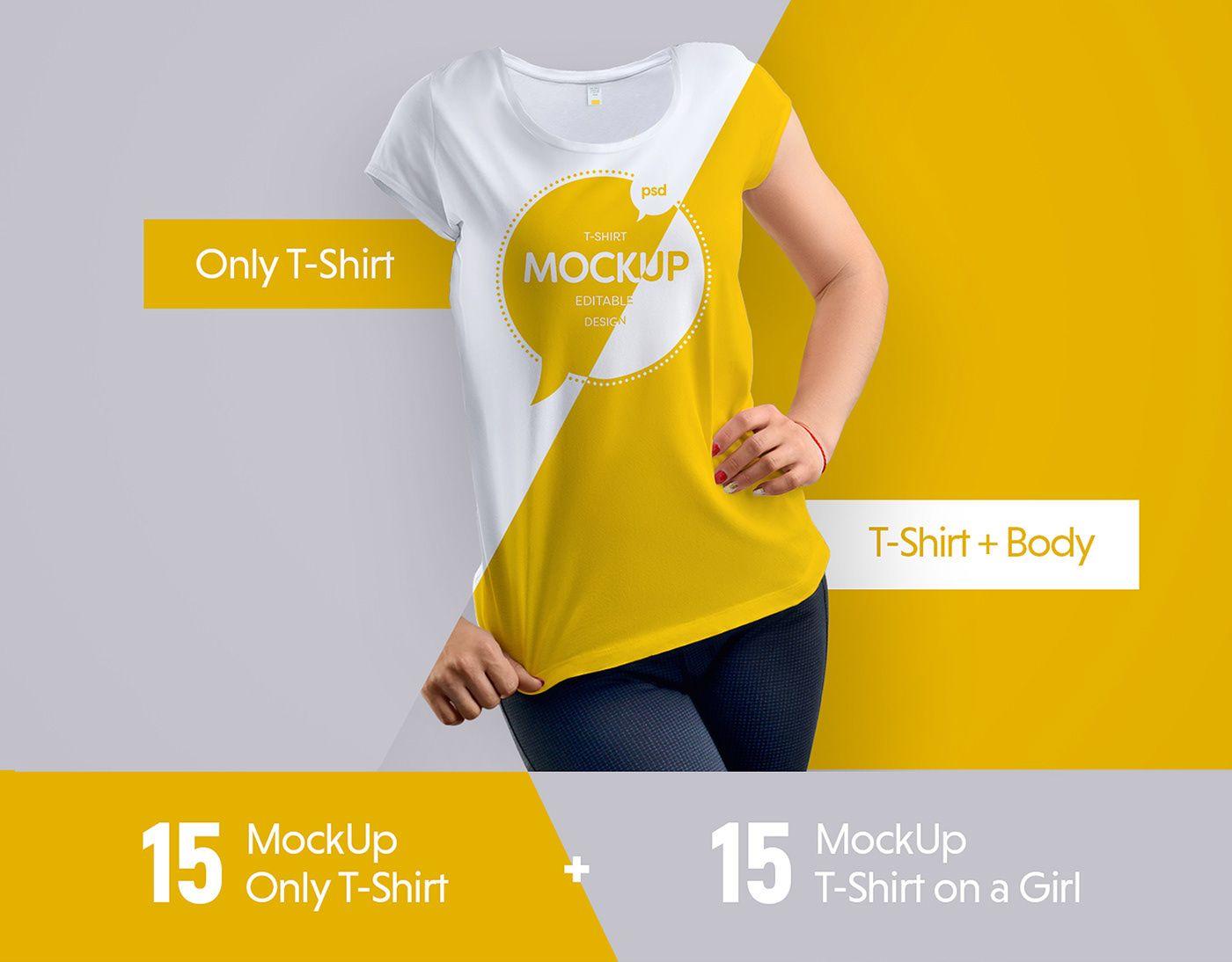 55 Free Clothing Accessories Psd Mockup Templates Free Psd Templates Shirt Mockup T Shirt Design Template Tshirt Mockup