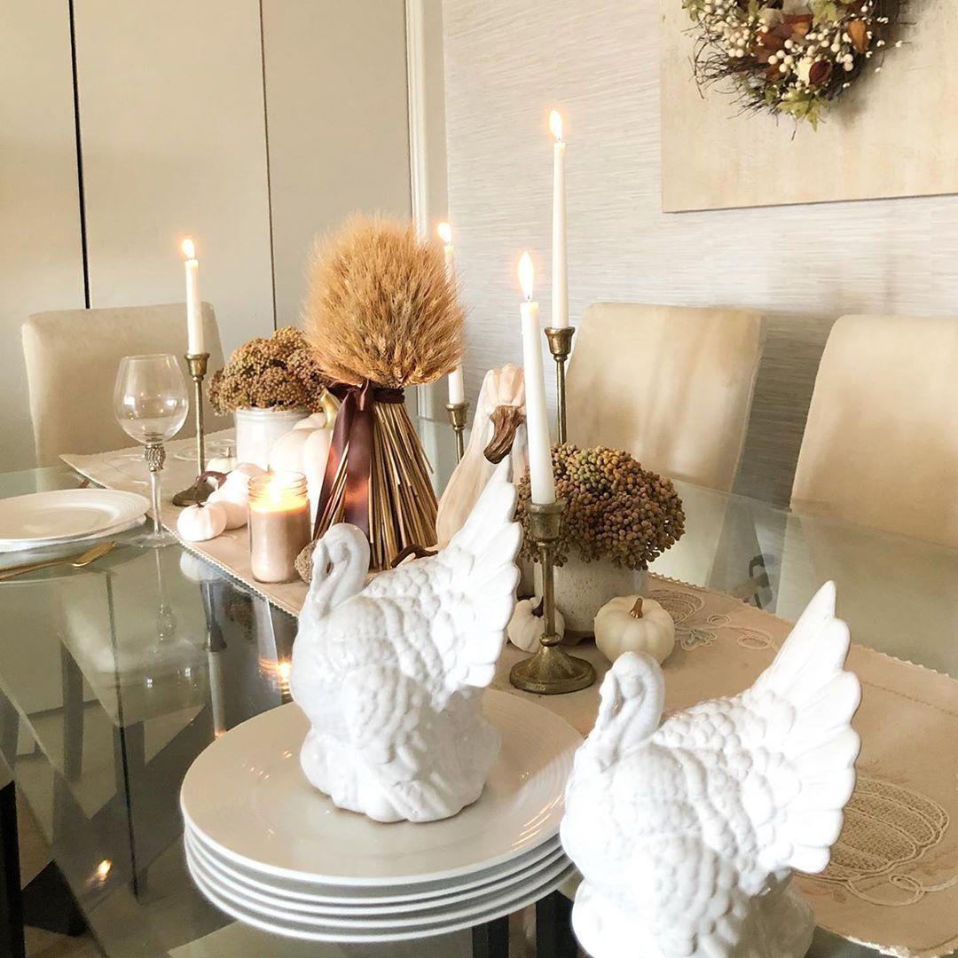 Thanksgiving Ideas!! I will be starting my Christmas Series Soon 🍂🍁 S U B S C R I B E. To my youtube channel✨ Link in bio ............................................................... 🍁 🍁 🍁 🍁 ' ' ' ' ' #thanksgivingdecor 🍂 #fall #falldecorations #cozyfallhome#decoration #beautiful #fallhomedecor #decoratingideas #cozyvibes #instagood #falldecor #photooftheday #follow #homedecor #instagram #otono #Glamdecor #Inspiration #falldecoratingideas #glamhomedecor #glamfalldecor #neutralhome #coz