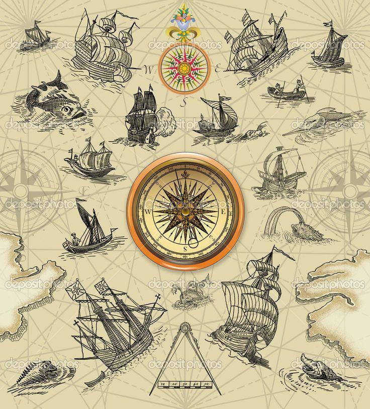 Pirate Treasure Map Rug: Pirate Treasure #Map Background