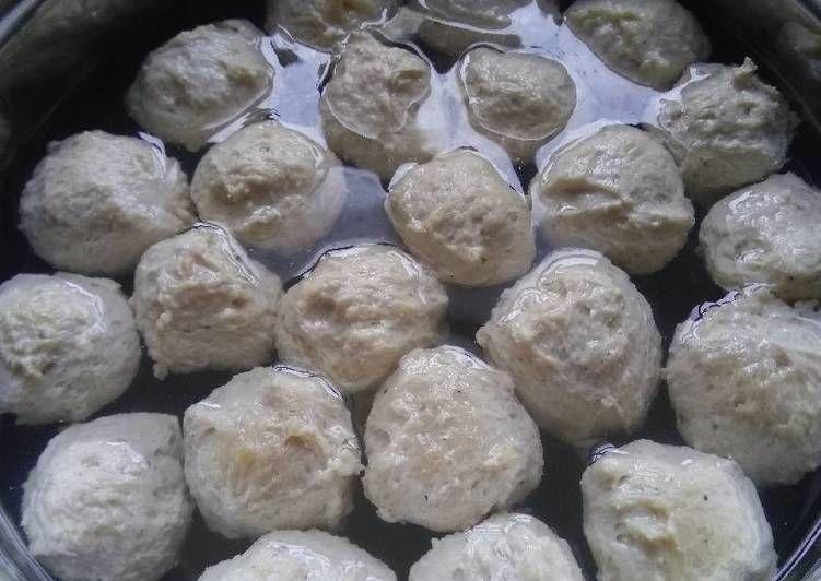 Resep Bakso Ayam Mentol Dan Kenyal Low Carb Keto Ketogenic Oleh Dicazqa Resep Keto Bakso Daging Sapi