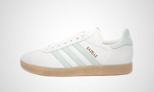 adidas Adilette (grün weiß) EE6183   43einhalb Sneaker Store