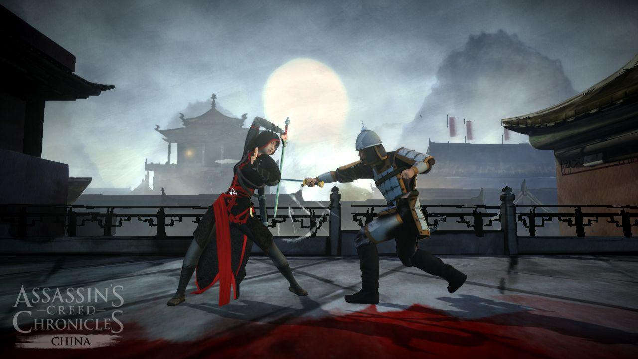 Assassin's Creed Chronicles China - Official Screenshot. Jetzt vorbestellen und ab 22. April Shao Juns Vergangenheit entdecken! ► ubi.li/6f764