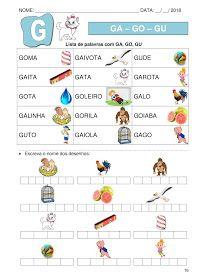 Apostila De Alfabetizacao Silabas Simples Em 2020 Alfabetizacao