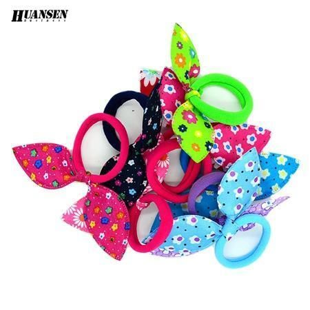 Ywhuansen 20Pcs/Lot Rabbit Ears Hair Band Children Kids Hair Accessories Scrunchies Elastic Hair #kidshairaccessories